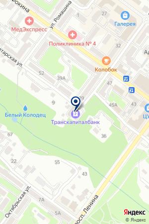 РАЙФФАЙЗЕН БАНК на карте Брянска