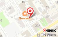Схема проезда до компании Этажи в Петрозаводске