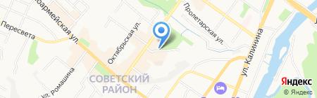 Exist на карте Брянска