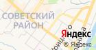 Мастерская по ремонту обуви на ул. Луначарского на карте