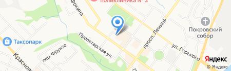 Славмебель на карте Брянска