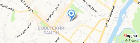 Ауди клуб Брянск на карте Брянска