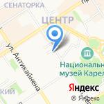 МТС на карте Петрозаводска