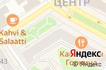 Схема проезда до компании Хрусталик в Петрозаводске