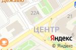 Схема проезда до компании Лига Квартир в Петрозаводске