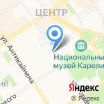 Праздник Маркет на карте Петрозаводска