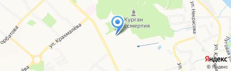 Соловьи на карте Брянска