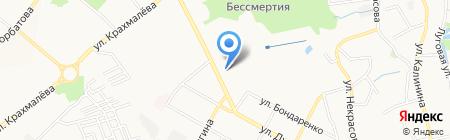 Абажур на карте Брянска