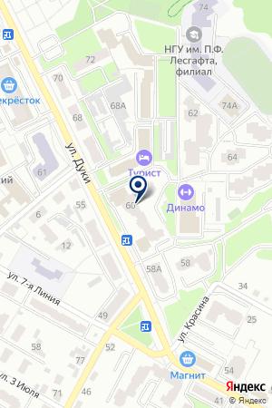 ВИТА на карте Брянска