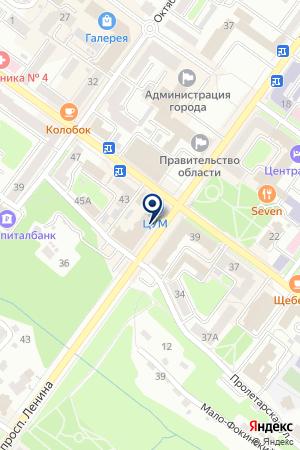 АПТЕКА ФАРМАТЭКС на карте Брянска