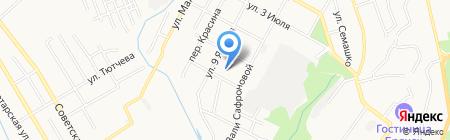Детский сад №139 на карте Брянска