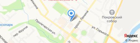 Puledro на карте Брянска