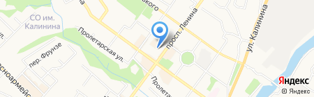 Департамент экономического развития Брянской области на карте Брянска