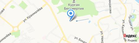 Клио на карте Брянска