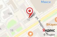 Схема проезда до компании Касса Взаимопомощи Январь в Петрозаводске
