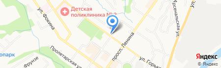Арт-плаза на карте Брянска