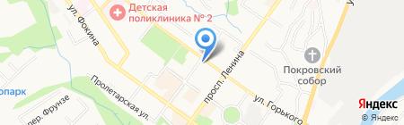 Детская городская библиотека №10 на карте Брянска