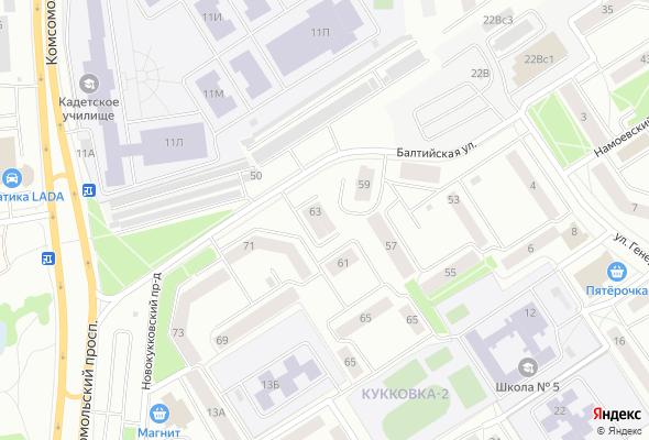 купить квартиру в ЖК Sky Tower (Дом на Балтийской)