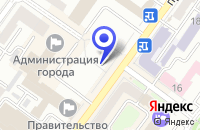 Схема проезда до компании ROCKET SOLUTION в Брянске
