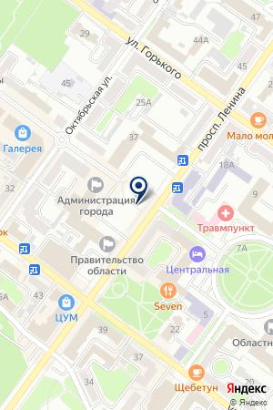 ПРОЕКТНАЯ ЭКСПЕРТИЗА на карте Брянска