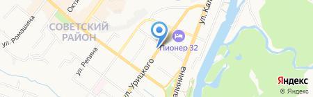 Хлебозавод №2 на карте Брянска