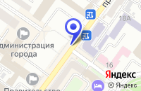 Схема проезда до компании ПАРТНЕР37 в Брянске