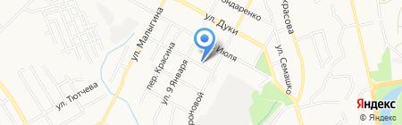 Дагаз на карте Брянска