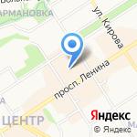 Л`Этуаль на карте Петрозаводска