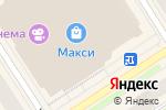 Схема проезда до компании Золотое сердце в Петрозаводске