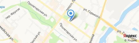 Магазин газет и журналов на карте Брянска