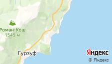 Частный сектор города Утес на карте