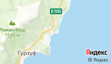 Гостиницы города Утес на карте