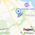Больница скорой медицинской помощи на карте Петрозаводска