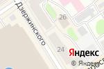 Схема проезда до компании Дисконт-Туризм в Петрозаводске