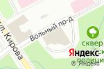 Схема проезда до компании Люстрам.ру в Петрозаводске