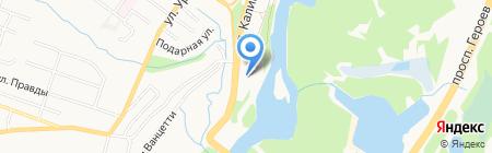 Олимп на карте Брянска