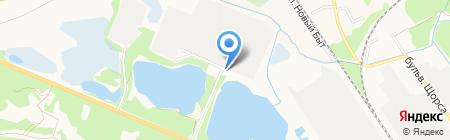 Брянский завод крупнопанельного домостроения на карте Брянска