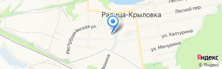 Детский сад №18 на карте Брянска