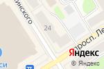 Схема проезда до компании Amore Mio в Петрозаводске