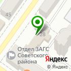 Местоположение компании Архитектурно-планировочное бюро г. Брянска