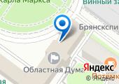 Межрайонная инспекция Федеральной налоговой службы №10 по Брянской области на карте