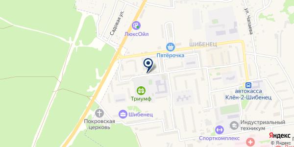 МегаФон на карте Фокине