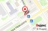 Схема проезда до компании Лана в Петрозаводске