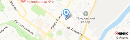 Центр внешкольной работы Советского района на карте Брянска
