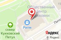 Схема проезда до компании Торстен в Петрозаводске