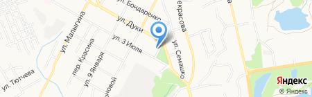 Детский сад №80 Солнечный на карте Брянска