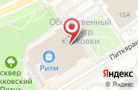Схема проезда до компании Сбербанк России в Петрозаводске
