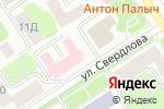 Схема проезда до компании Мальта в Петрозаводске