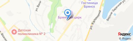 Гименей на карте Брянска
