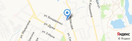 Почтовое отделение №7 на карте Брянска